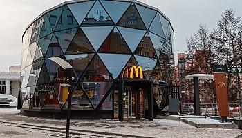 В Красноярске открылся первый «Макдоналдс» с «Маккафе»