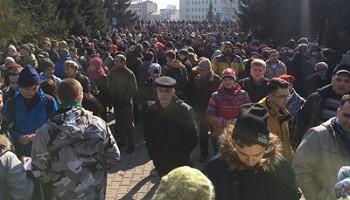 Новосибирск выступил против воровства