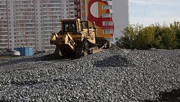 Новую дорогу в ЖК «Матрёшкин двор» в Новосибирске откроют до конца этого года