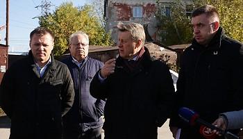 Улицу в частном секторе Железнодорожного района Новосибирска заасфальтируют