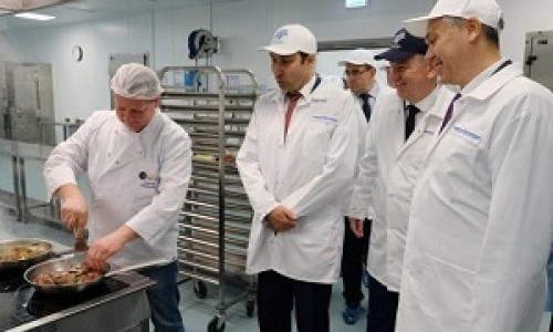 Состоялось открытие цеха бортового питания в Новосибирской области