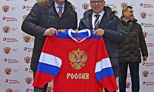 Вклад в будущее хоккея оценил в Новосибирске Владислав Третьяк