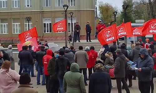 Массовые акции КПРФ против итогов выборов в Госдуму проходят в Сибири