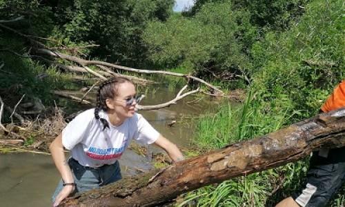 Русло малой реки почистили в Московской области