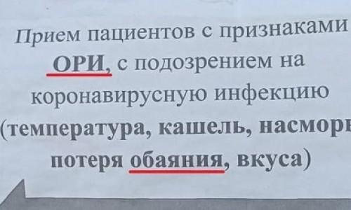 Отдельный вход для необаятельных пациентов с признаками ОРИ появился в тувинской ЦКБ