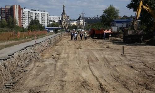 Рабочее движение по ул. Мясниковой в Новосибирске откроют в ноябре