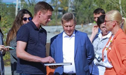 Парк «Арена» у нового ЛДС откроют для новосибирцев ко дню города