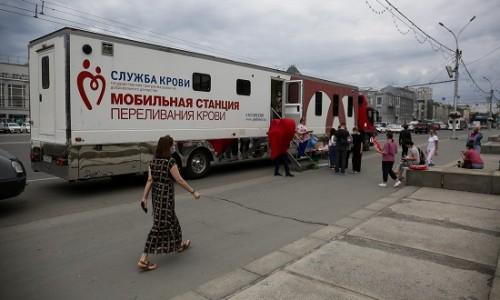 Более 26 литров крови сдали новосибирцы за несколько часов