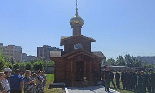 Первый и единственный в России храм авиапожарных открылся в Чите