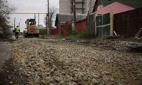 Ремонт дороги на ул. Черенкова в Новосибирске завершат на следующей неделе