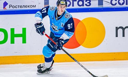 Новосибирский хоккеист попал в состав молодежной сборной России