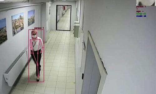 В Новосибирске тестируют новые умные камеры. Они умеют визуально определять ковид