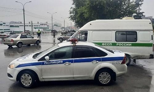 Мероприятие «Дебитор» проходит на дорогах Новосибирска. Судебные приставы ловят водителей-должников