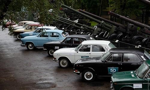 Финальные этапы соревнований на ретроавтомобилях состоялись в Москве в конце сентября