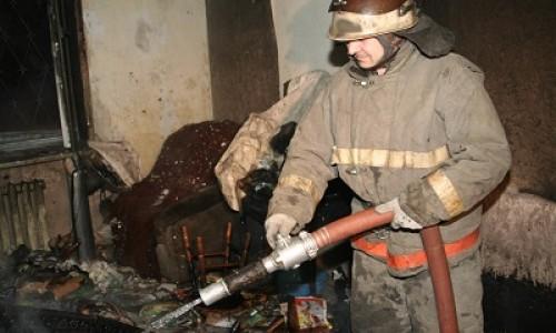 В Ленинском районе Новосибирска на пожаре погибли три человека