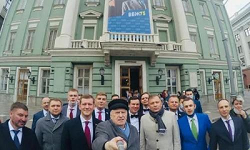 Владимир Жириновский ищет работу для Ивана Урганта